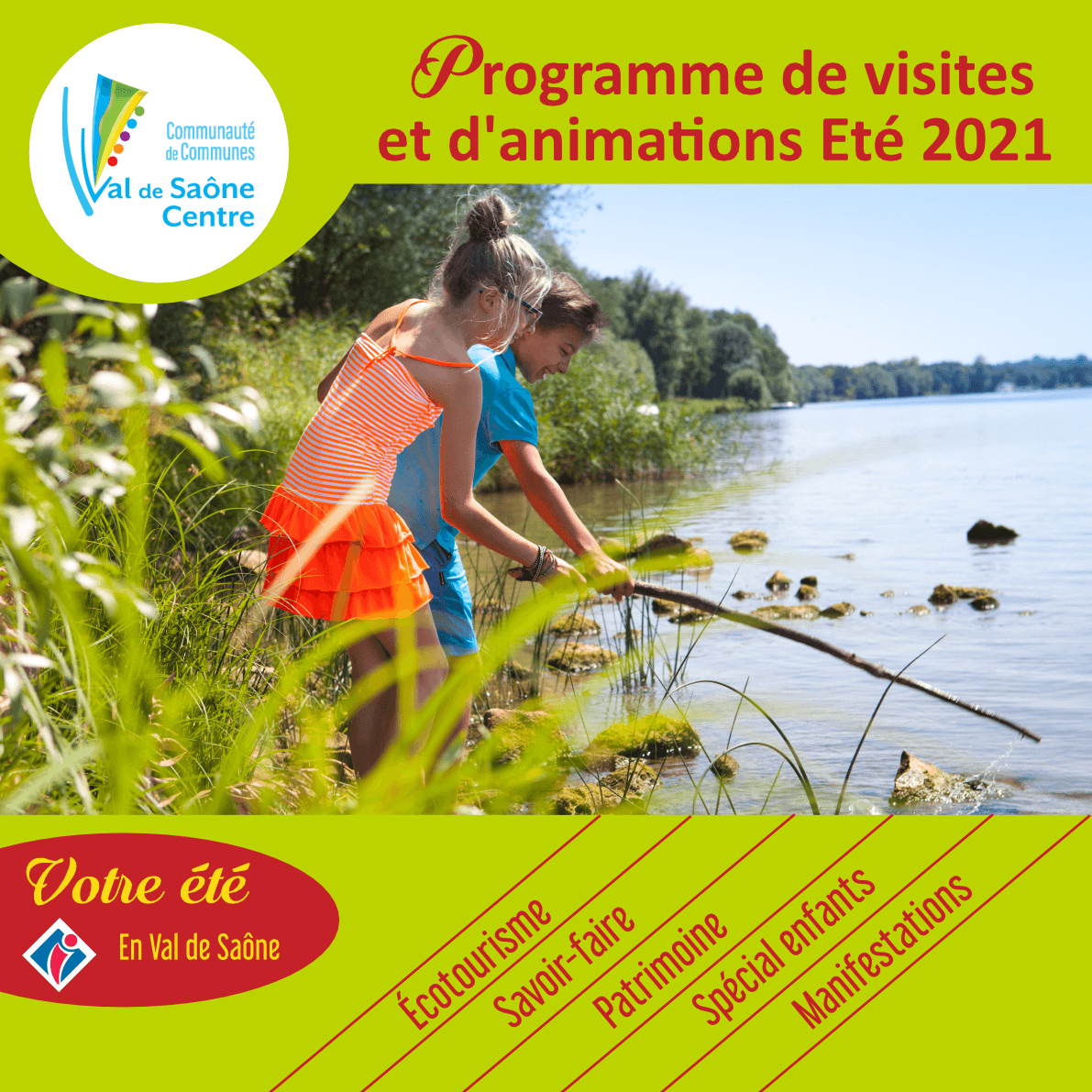 Votre été en Val de Saône